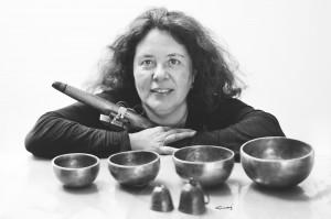 Ángeles Sanz, terapeuta de sonido